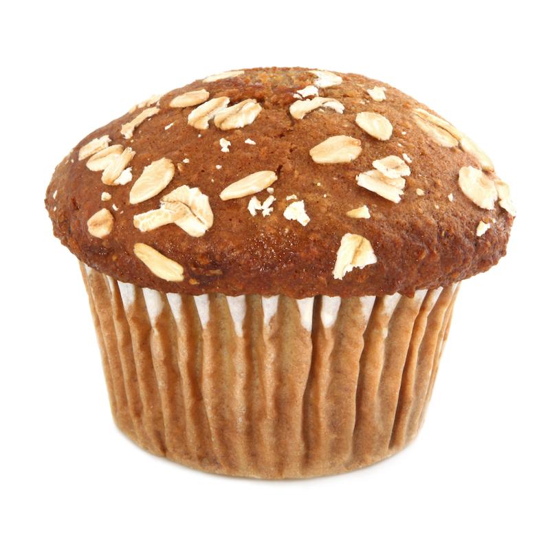 Fabulous flax muffins
