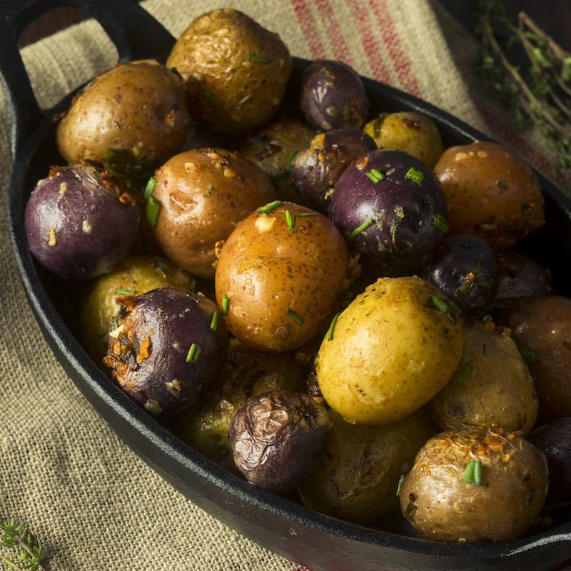 Rosemary mini potatoes