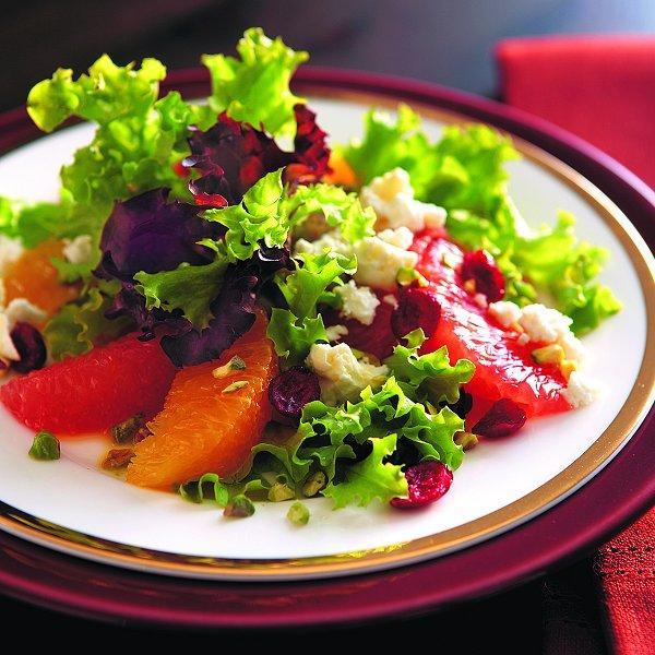Elegant citrus salad