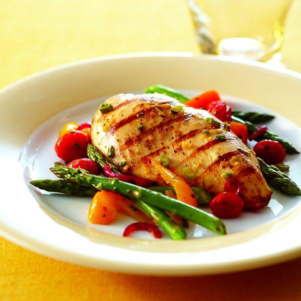 Grilled Spring Chicken Chatelaine