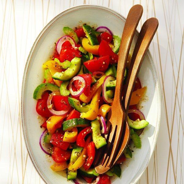 Cool gazpacho salad
