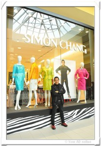 Simon Chang's got a brand new shop