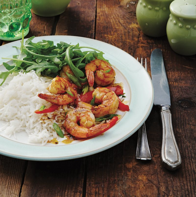 Jamie Oliver's Prawns and Avocado with an Old-School Marie Rose Sauce