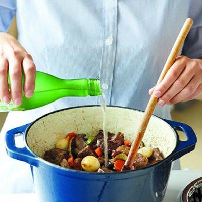Sake-beef stew