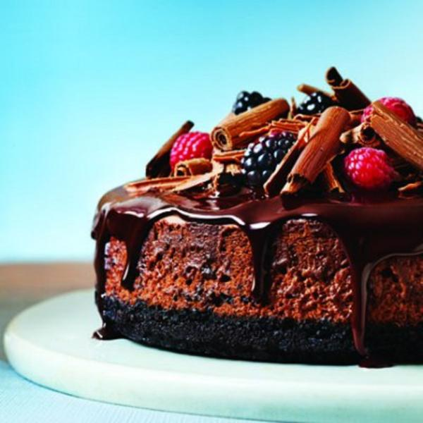 Triple-Chocolate Cheesecake Recipes — Dishmaps