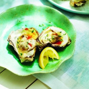 Grilled oysters recipe