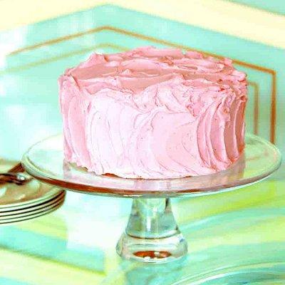 Cherry-vanilla cake