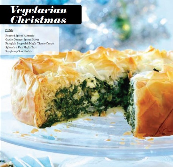 A vegetarian christmas dinner menu chatelaine vegetarian holiday recipes christmas recipes forumfinder Image collections