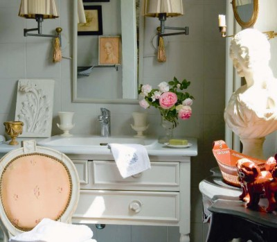 new, romantic and historic bathrooms, bathroom decorating ideas