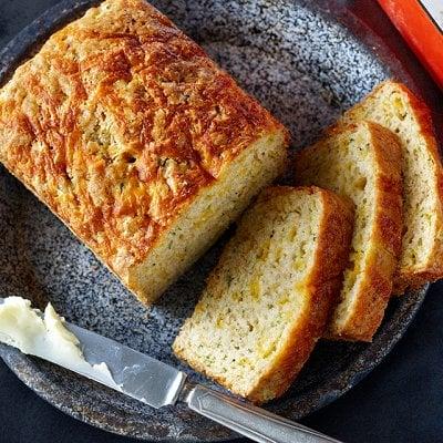 Sharp-cheddar zucchini bread - Chatelaine.com