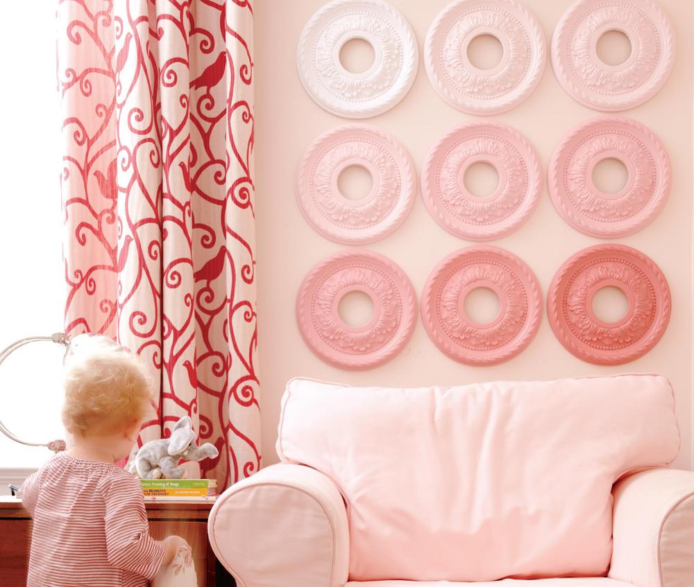 Craft up pretty wall art with this 10 minute project for Pretty project