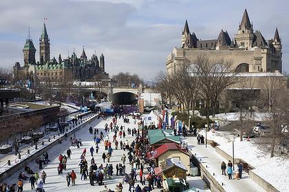 Rideau Canal, top trails in Canada, urban trails