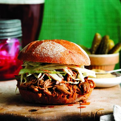 Pulled pork with ginger-bourbon saucePhoto by John Cullen