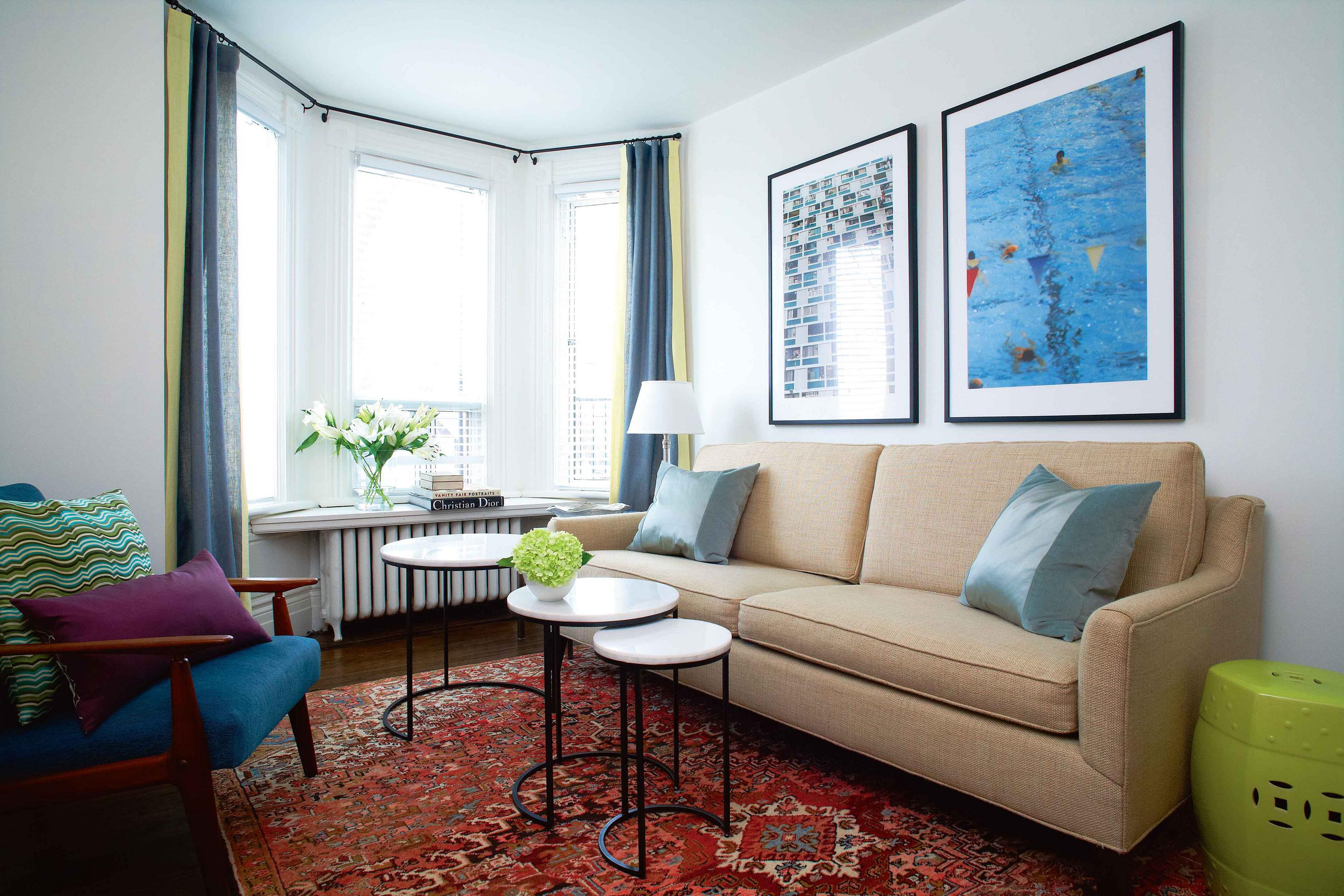 Make more of a small space with five decorating tips chatelaine - Tips on home decorating set ...