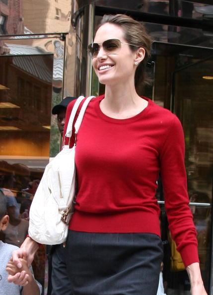 sunglasses, Angelina Jolie, face shape, frames