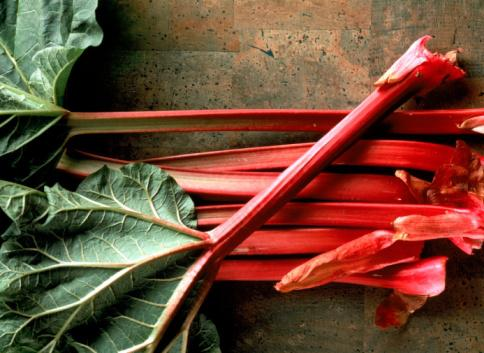 Rhubarb.Photo, Getty Images.