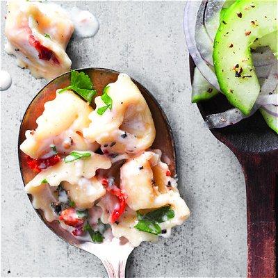 sides, seasonal side dishes, food, tortellini, salad