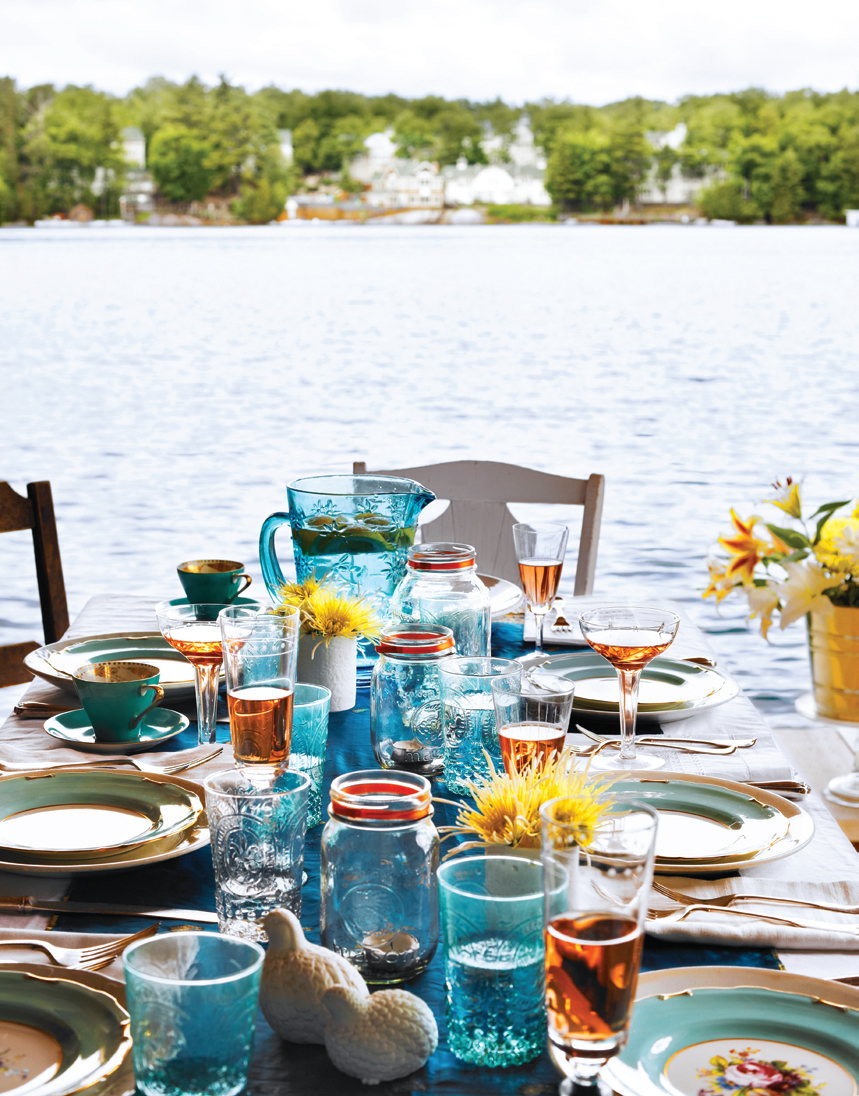 Make a beautiful spread