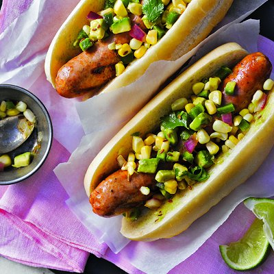 Tex-mex sausages recipe  Photo by John Cullen