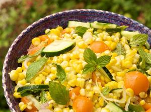 Julie Daniluk corn salad recipe