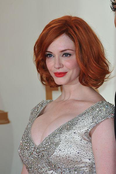 Christina Hendricks of Mad Men