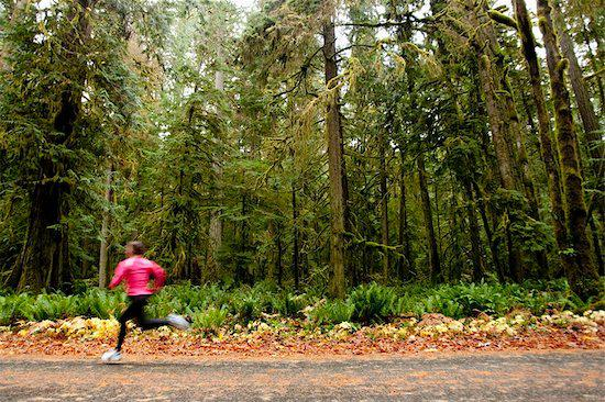 How can nature help you be a better runner?