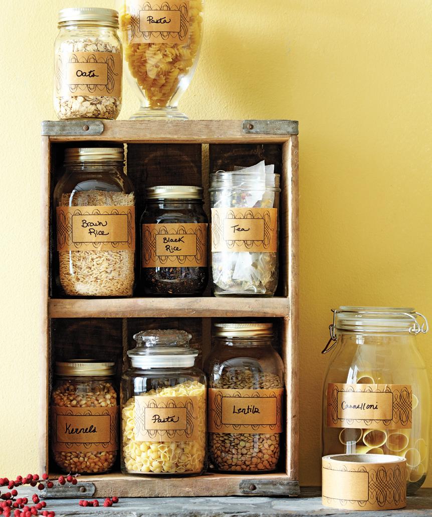 pantry, health food