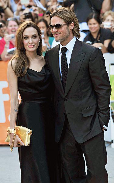 Angelina Jolie and Brad Pitt at TIFF