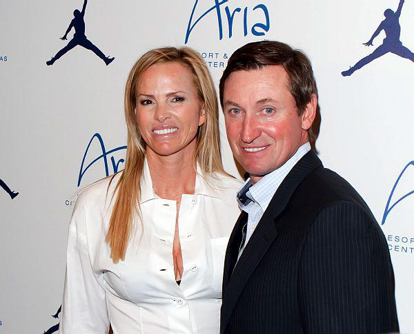 Janet and Wayne Gretzky