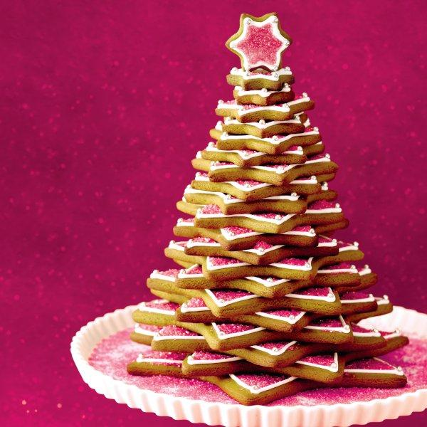 easy gingerbread tree recipe chatelainecom - Gingerbread Christmas Tree