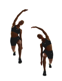 Exercise: Lunging obliques