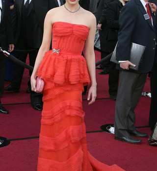 Michelle Williams in Louis Vuitton, Oscars 2012