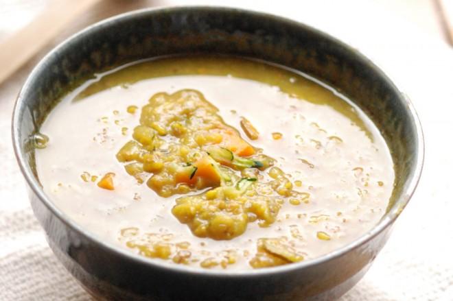 Lentil lime soup