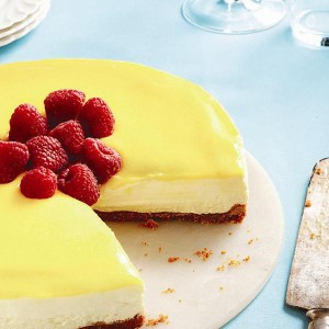 No-bake lemon mascarpone cheesecake