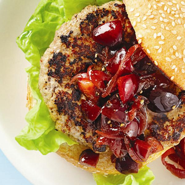 Cherry and caramelized-onion relish