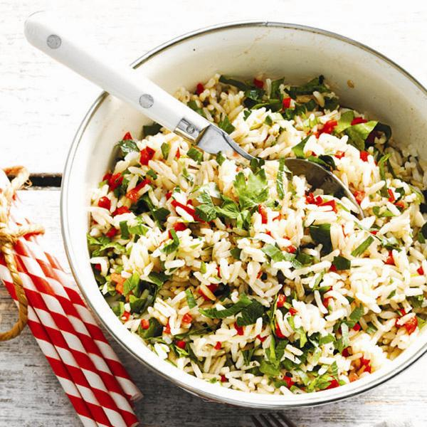 Herbed Brown Rice Salad