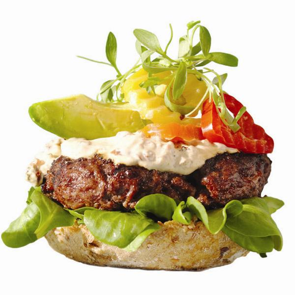 Stealthy healthy burger