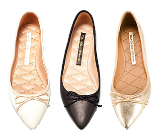 Pointed ballerina flat: Weekly steal