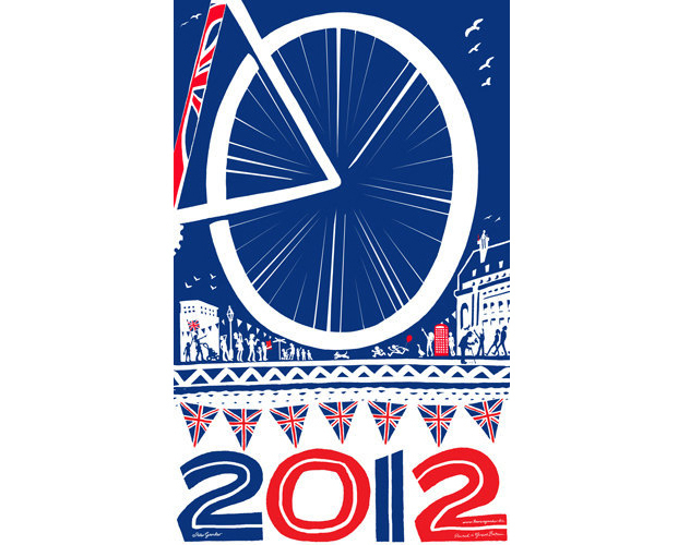 London 2012 Olympics Limited Edition print by Have a Gander UK - a limited giclée print