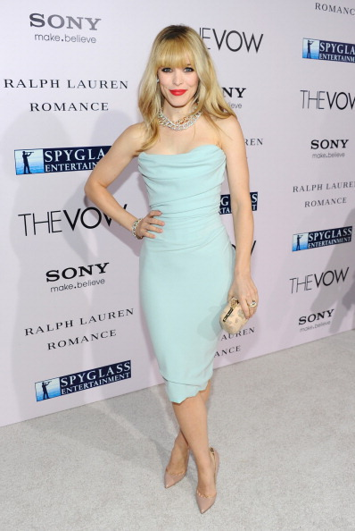 "Rachel McAdams Premiere Of Sony Pictures' ""The Vow"" - Red Carpet"