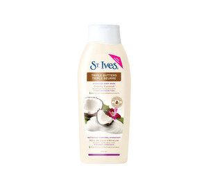 St. Ives Triple Butters Hydrating Body Wash in Creamy Coconut
