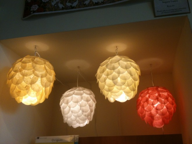 The Paper Place paper fish lantern balls