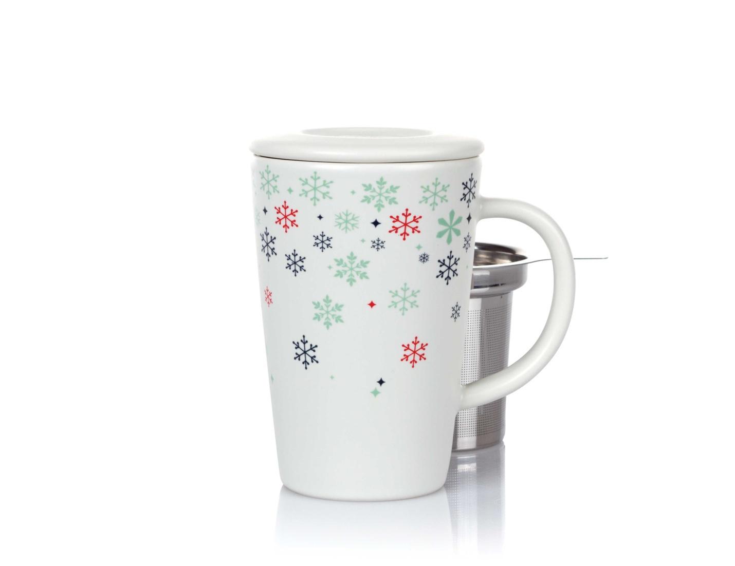 DavidsTea mug with infuser