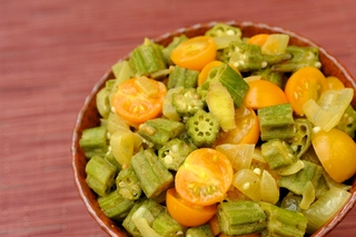 Health benefits of okra and a curry recipe to heal inflammation