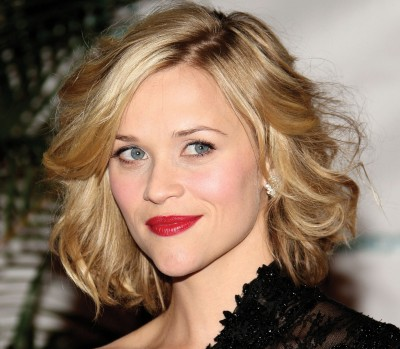 Reese Witherspoon with curly bob
