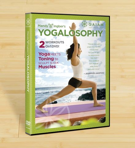 Yogalosophy DVD cover