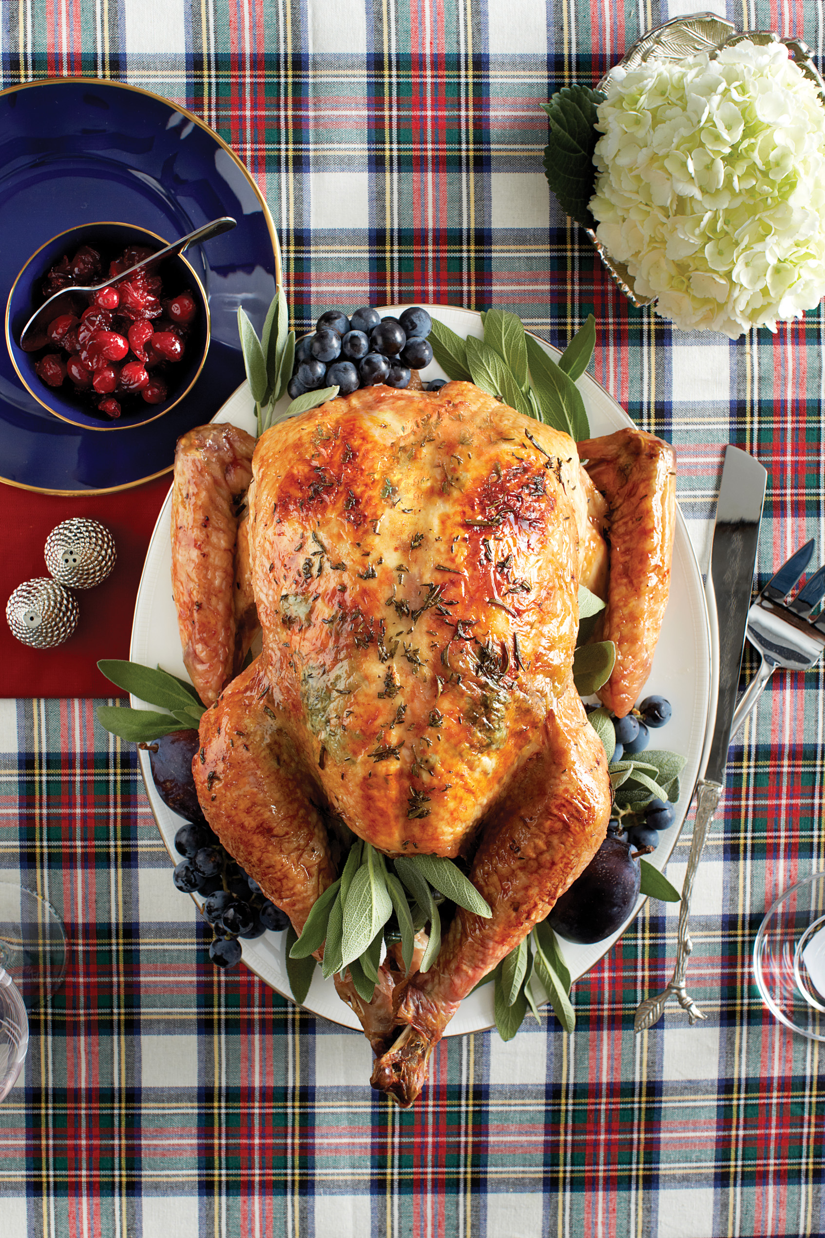 Christmas dinner menu: Tricked-out turkey!