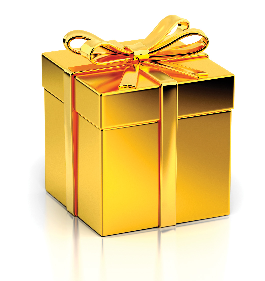 Gift Box Gold : Five great financial gifts to give this holiday