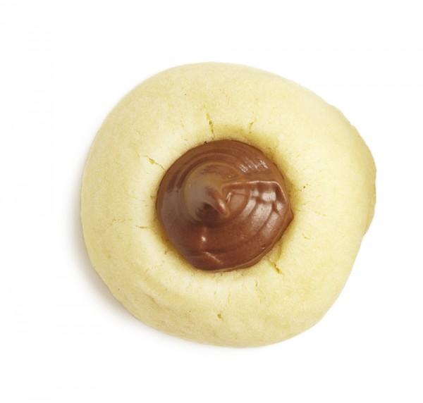 Nutella kiss icebox cookies