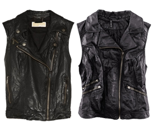 Leather Moto Vests